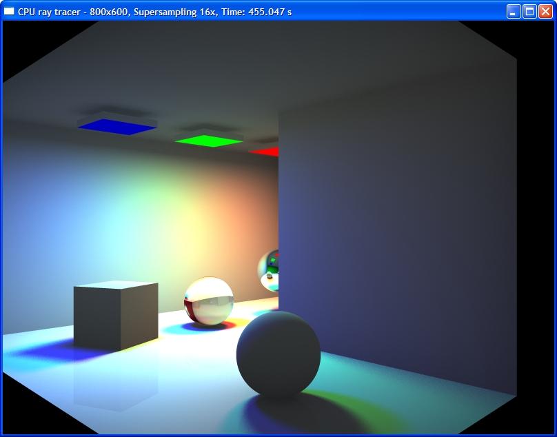 3D C/C++ tutorials - Ray tracing