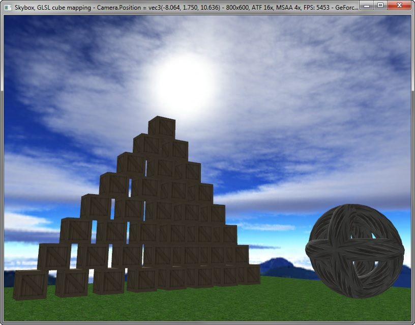how to create a skybox in opengl